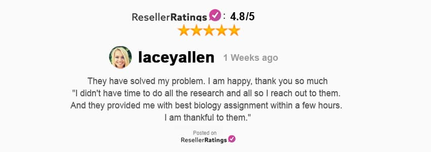Reseller Rating review